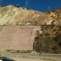 Photo taken at Los Angeles Aqueduct by Ela on 12/27/2011