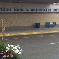 Photo taken at Saskatoon John G. Diefenbaker International Airport (YXE) by Dennis R. on 7/20/2011