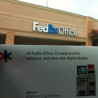 Photo taken at FedEx Office Print & Ship Center by Hannah on 8/5/2012