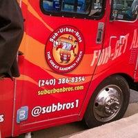 Photo taken at Sub Urban Bros by Laura C. on 11/28/2011