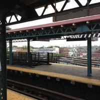 Photo taken at MTA Subway - Junction Blvd (7) by Darius S. on 7/16/2012