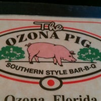 Photo taken at The Ozona Pig by Kiran K. on 4/5/2012
