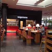 Photo taken at Wagamama by Ellie P. on 5/29/2012