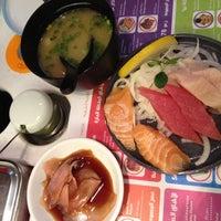 Photo taken at Yo! Sushi by Karen R. on 5/17/2012