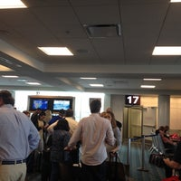 Photo taken at Gate 17 by Alexis M. on 4/1/2012