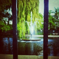 Photo taken at Clapton Pond by James C. on 5/12/2012