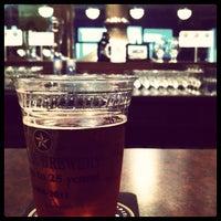 Photo taken at Capital Brewery & Bier Garten by Katie B. on 4/29/2012