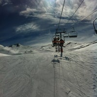 Photo taken at Valle Nevado by Sebastian P. on 8/9/2012