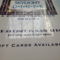 Photo taken at Skylight Diner by Alex C. on 7/21/2012