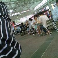 Photo taken at Food Court Lt.9 Menara Jamsostek by Andri L. on 9/11/2012