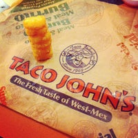 Photo taken at Taco John's by HEATHER K. on 7/20/2012