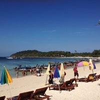 Photo taken at Koh Lipe by PeacK S. on 2/12/2012