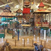 Photo taken at Great Wolf Lodge by Brian D. on 3/3/2012