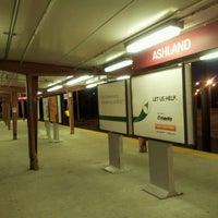 Photo taken at PATCO: Ashland Station by Jason E. on 5/3/2012