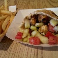 Photo taken at Oasis Falafel by Alina P. on 9/24/2011