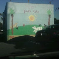 Photo taken at Costa Mesa Bark Park by Rachel F. on 11/5/2011