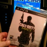 Photo taken at GameStop by Matthew R. on 11/11/2011