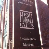 Photo taken at High Falls by Erika on 8/18/2012