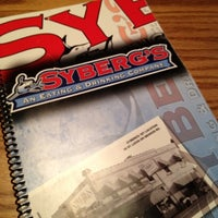 Photo taken at Syberg's on Market by Stace B. on 8/9/2012