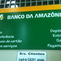 Photo taken at Banco da Amazônia by Cristina R. on 2/24/2012
