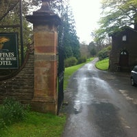 Photo taken at Gliffaes Country House Hotel Powys by Rob S. on 4/12/2012
