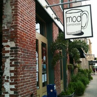 Photo taken at MOD Coffee & Tea House by Robin A. on 7/8/2012