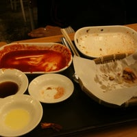 Photo taken at 국대떡볶이 by Hochan C. on 1/26/2011