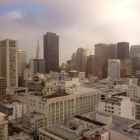 Photo taken at Parc 55 San Francisco - A Hilton Hotel by Steve O. on 1/6/2012