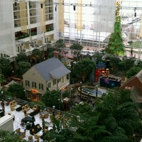 Photo taken at Gaylord National Resort & Convention Center by David F. on 12/20/2011