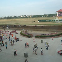 Photo taken at Prairie Meadows by Taryn M. on 7/13/2012
