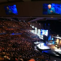 Photo taken at Willow Creek Community Church by Miguel M. on 8/9/2012