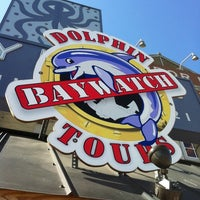 Photo taken at Baywatch Dolphin Tours by David W. on 7/28/2011