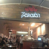 Photo taken at Pomodori Pizza by Luiz V. on 10/2/2011