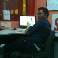 Photo taken at Pre Press Nstp Balai Berita 2 by Zihan R. on 8/5/2011
