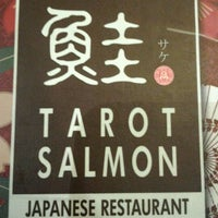 Photo taken at Tarot Salmon Japanese Restaurant by Donald P. on 9/30/2011