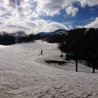 Photo taken at Cannon Mountain Ski Area by rachel b. on 3/14/2012