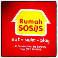 Photo taken at Rumah Sosis by Azam Q. on 1/1/2011