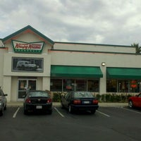 Photo taken at Krispy Kreme Doughnuts by Comic-Con G. on 9/5/2011