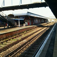 Photo taken at Fareham Railway Station (FRM) by David H. on 1/2/2012