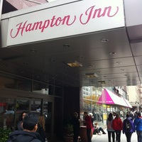 Photo taken at Hampton Inn Manhattan Times Square North by Morten J. on 11/21/2011
