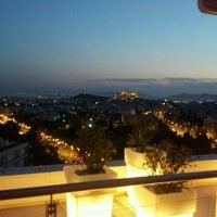 Photo taken at Hilton Athens by Steve K. on 6/4/2012