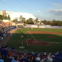 Photo taken at McKethan Stadium at Perry Field by M T. on 3/13/2012