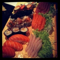 Photo taken at Mori Sushi by Pedro on 9/2/2012