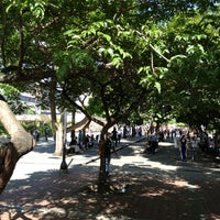 Photo taken at Plaza Luis Brión by Leonardo S. on 8/16/2012