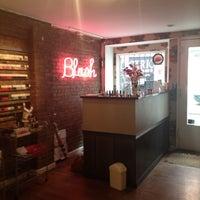 Photo taken at Blush Nail Lounge by Shannyn A. on 4/11/2012
