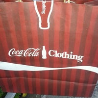 Photo taken at Coca-Cola Clothing by Rafaela S. on 7/15/2012