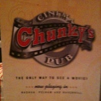 Photo taken at Chunky's Cinema Pub by Jason S. on 5/20/2011