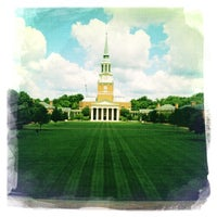 Photo taken at Wake Forest University by Urban S. on 6/7/2012