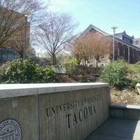 Photo taken at University of Washington Tacoma by Michael C. on 4/2/2012
