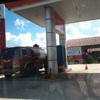Photo taken at Pom bensin balai karangan by Isnie R. on 2/7/2012